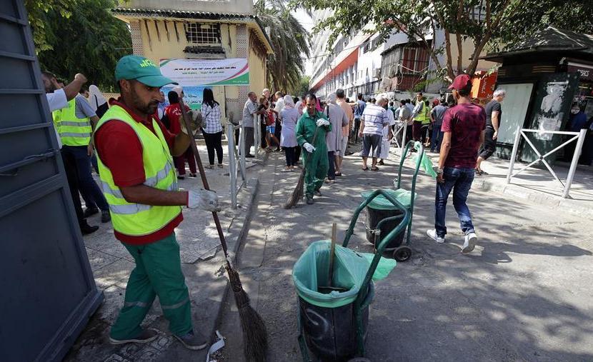 (XHDW)(1)阿尔及利亚开展城市清洁行动以减少霍乱传播途径