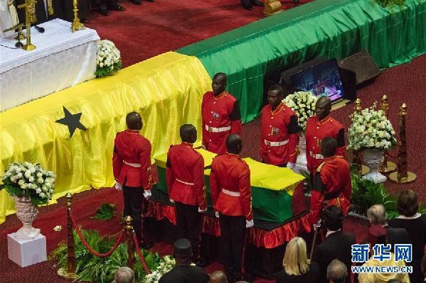 (国际)(1)加纳为联合国前秘书长安南举行国葬