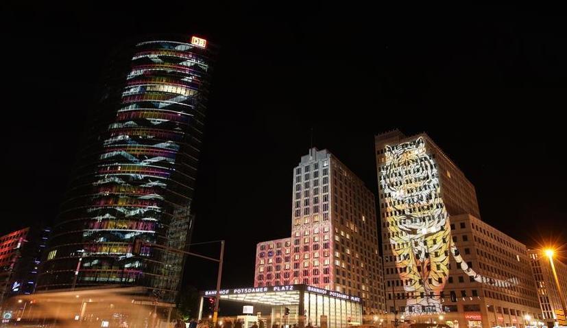 (国际)(2)2018柏林灯光节开幕