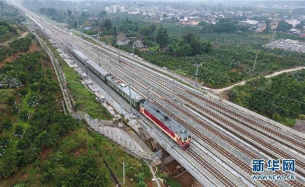 (经济)(1)成雅铁路成朝段开始联调联试