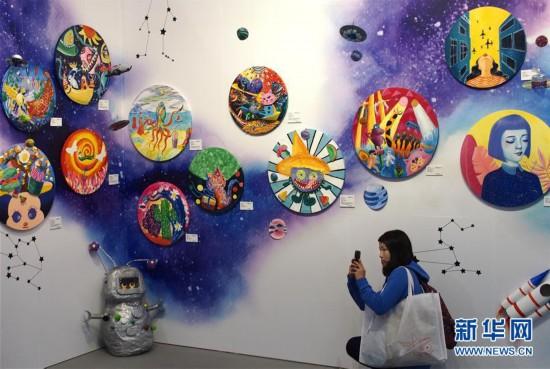 (文化)(1)2018上海艺术博览会开幕