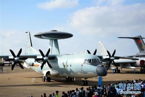 (科技)(3)中国空军盛装亮相中国航展