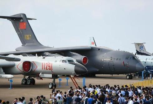 (科技)(7)中国空军盛装亮相中国航展