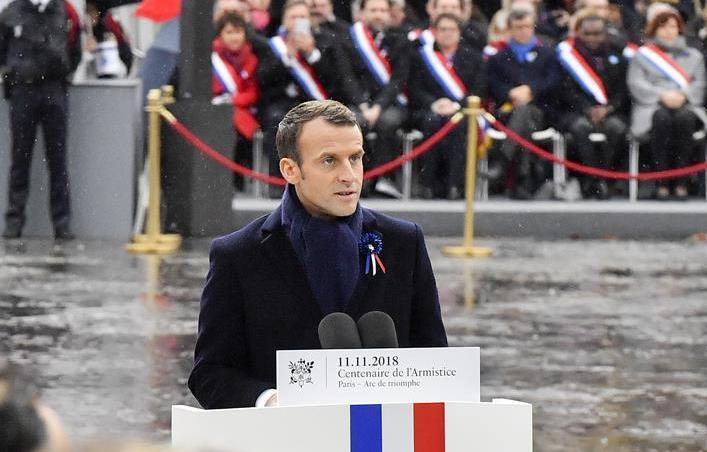 (国际)(2)法国隆重纪念一战结束百年