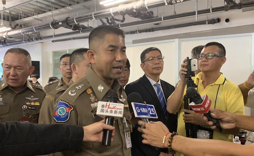 (国际·图文互动)泰国推出电子落地签证 大幅缩短游客入境时间