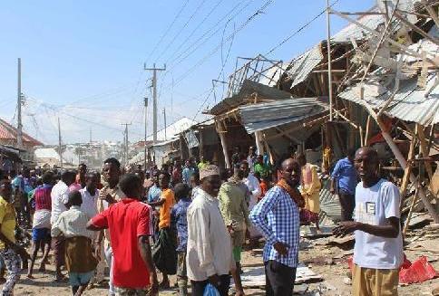 (国际)(1)索马里首都发生汽车炸弹袭击10人死亡
