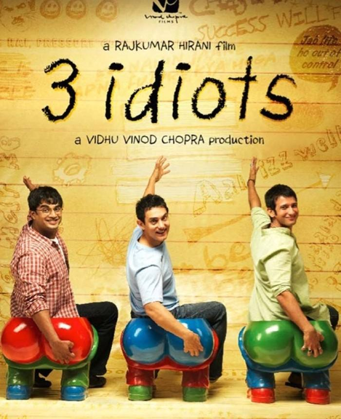 《三傻大闹宝莱坞》海报