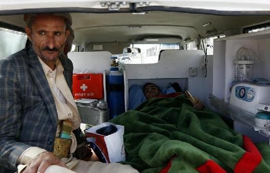 (国际)(2)胡塞武装向国外转运伤员