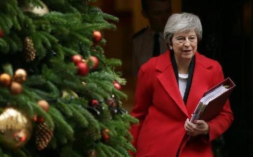 """(国际)(3)英国政府公布""""脱欧""""协议全部法律建议"""