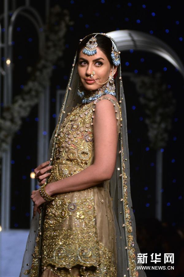 (新华视界)(5)巴基斯坦婚礼时装周
