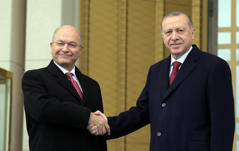 (国际)(1)土耳其总统表示愿与伊拉克深化反恐合作