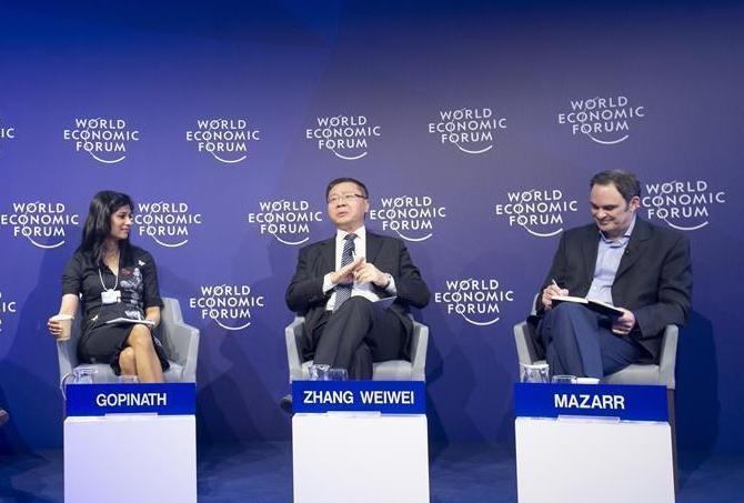 (国际)(5)达沃斯世界经济论坛上的中国面孔