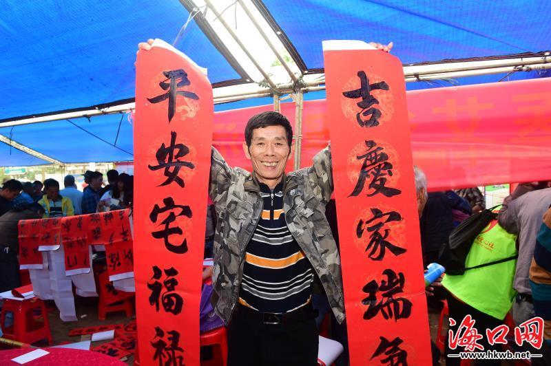 """新春走基层 2019海口市文化科技卫生""""三下乡""""活动收官"""