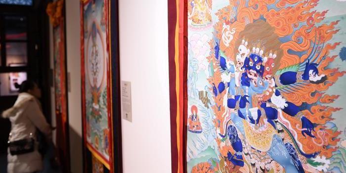 """(文化)(1)福建举行""""雪域之光——西藏昌都唐卡艺术展"""""""