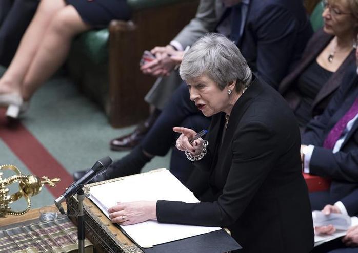 (国际)(3)特雷莎·梅在议会进行首相问答