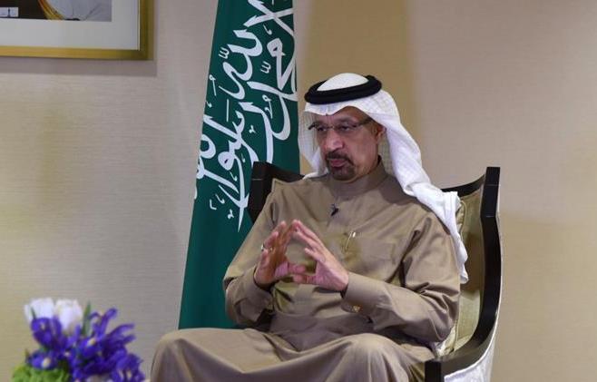 """(国际·图文互动)专访:""""沙中关系将在长期友好的坚实基础上迈上新台阶""""——访沙特阿拉伯能源、工业和矿产资源大臣法利赫"""