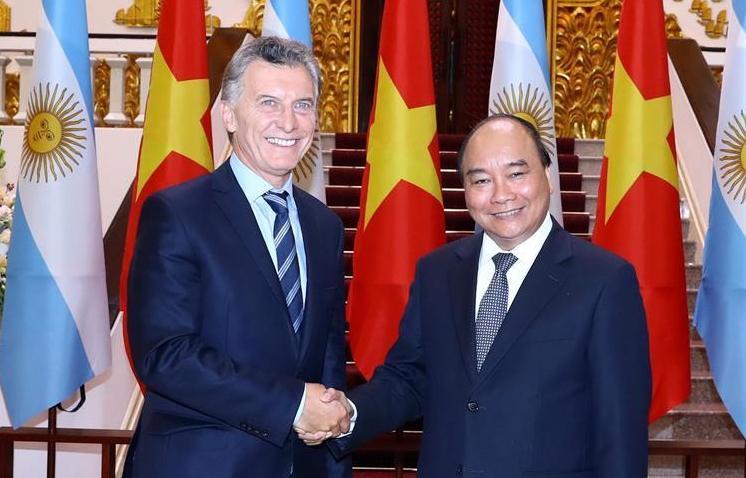 (XHDW)(1)阿根廷总统访问越南