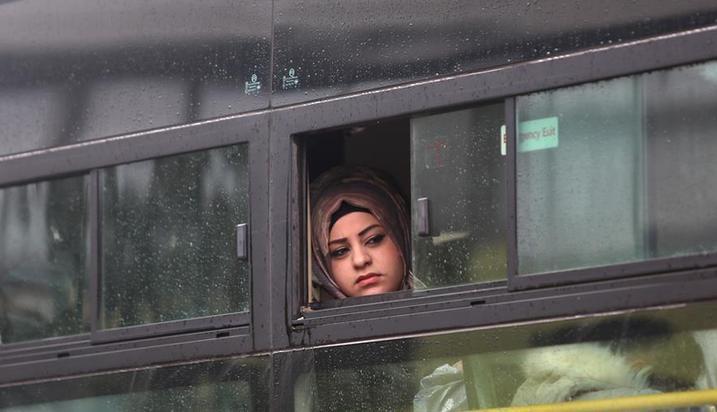 (国际)(5)黎巴嫩组织新一批叙利亚难民回国