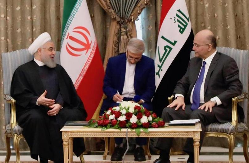 (国际)(2)伊朗总统访问伊拉克谈合作