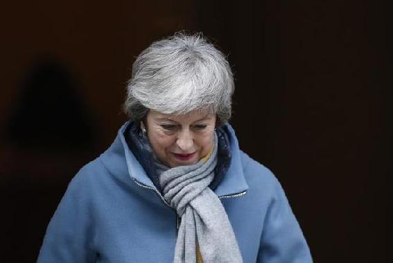 """(国际)(1)英国议会下院投票支持推迟""""脱欧"""""""
