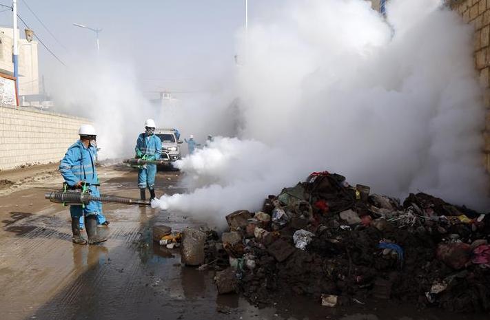 (国际)(1)也门:预防霍乱