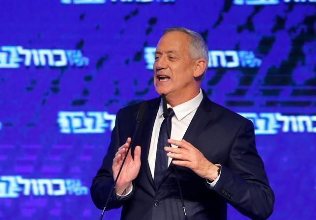 (国际)(1)以色列蓝白党领导人甘茨承认在议会选举中失败