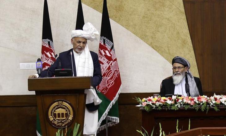 (國際)(1)阿富汗新一屆國民議會宣誓就職