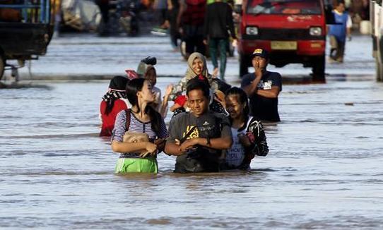 (國際)(2)印尼西部洪水成災