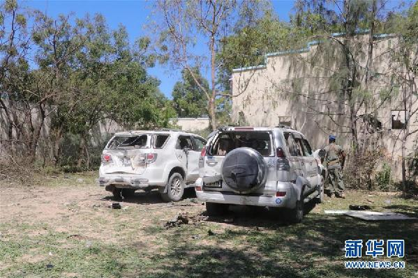 (国际)(3)索马里首都遭汽车炸弹袭击致5死9伤