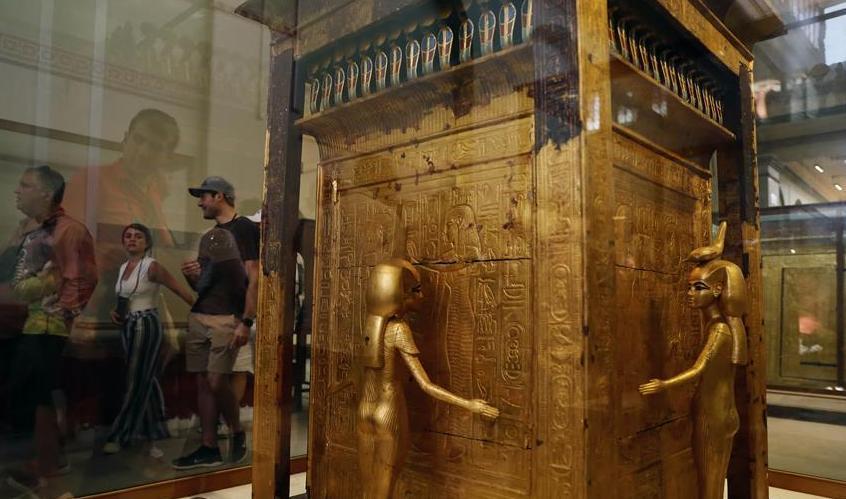 (国际)(1)走进埃及博物馆