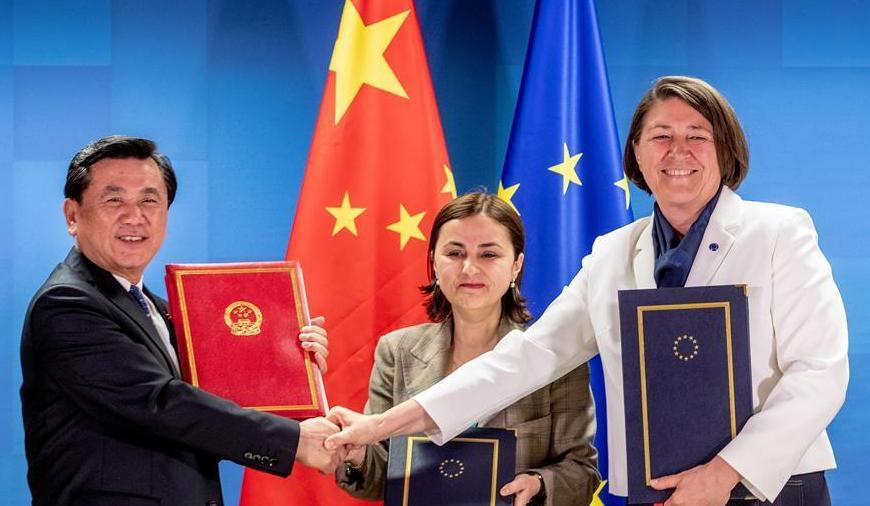 (国际)(1)中国与欧盟首次签署民航领域协定