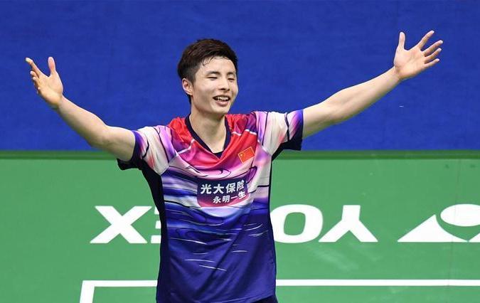 (体育)(1)羽毛球——苏?#19979;?#26479;:中国队第11次夺冠