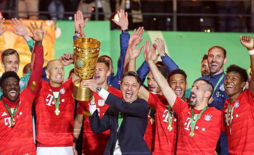 (体育)(4)足球——德国杯:拜仁慕尼黑队夺冠