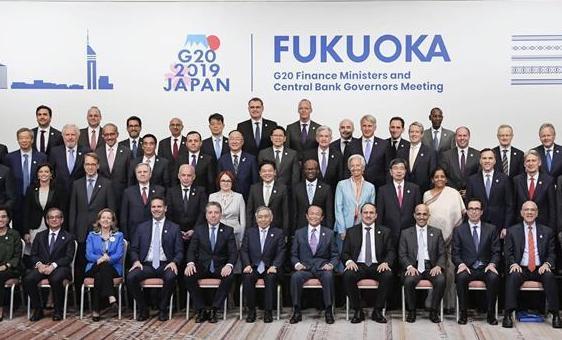 (国际·图文互动)G20财长和央行行长会强调协调应对全球性风险