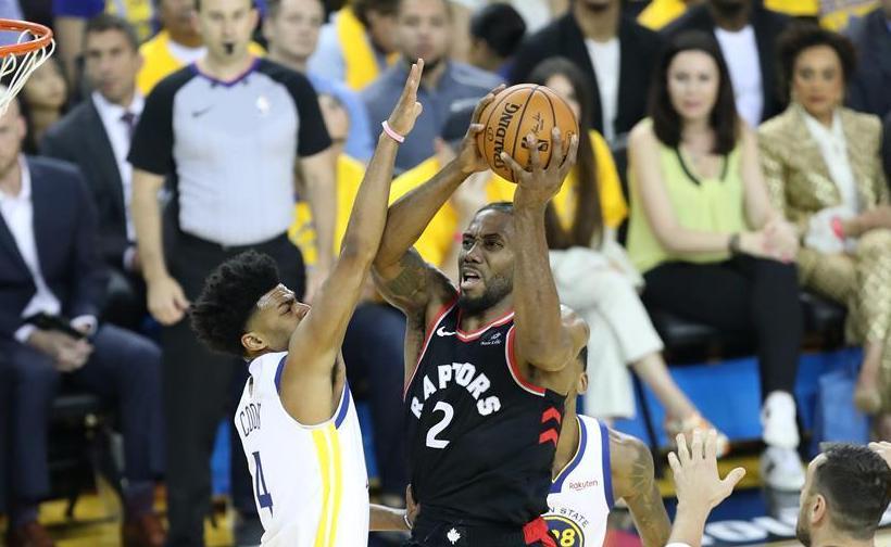 (体育)(7)篮球——NBA季后赛总决赛第三场:勇士负猛龙