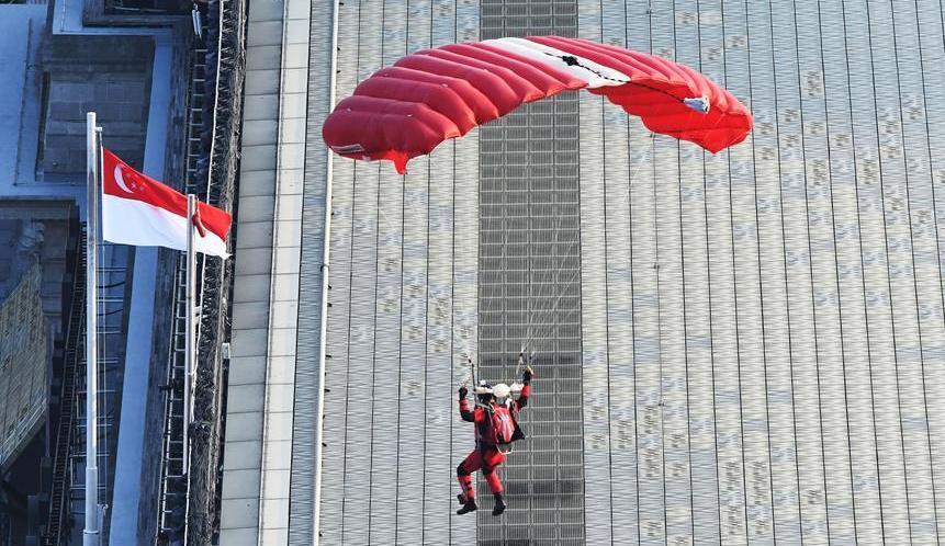 (XHDW)(2)新加坡国庆庆典彩排