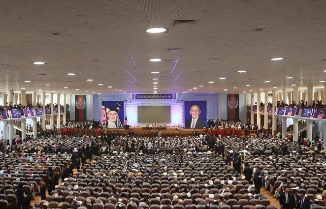 (国际)(1)阿富汗总统加尼出席竞选活动