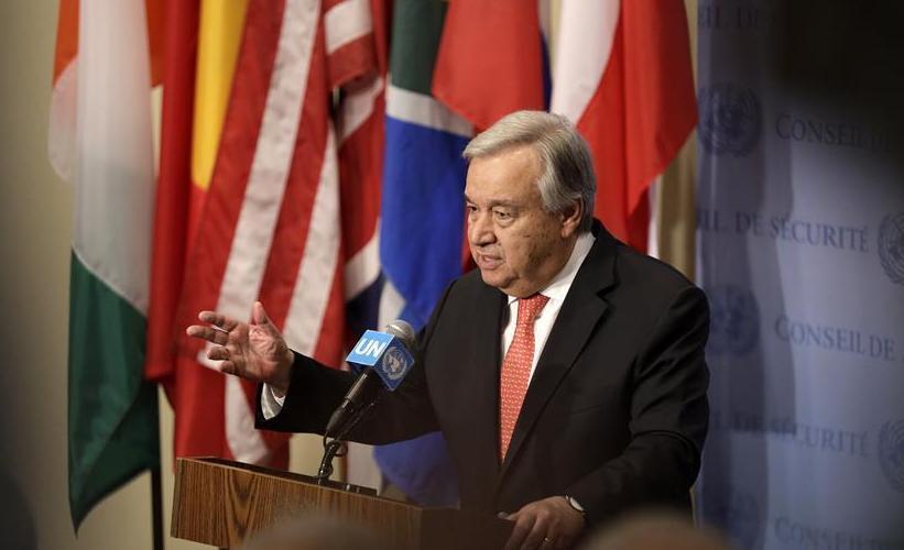 (国际)(1)古特雷斯呼吁寻求国际军控新路径