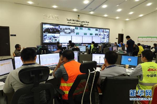 (國際·圖文互動)(2)中國輕軌圓滿完成今年麥加朝覲運送服務