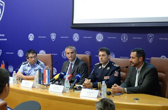 (國際)(1)中國與克羅地亞第二次警務聯巡圓滿落幕