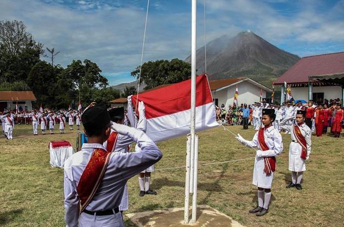 (国际)印度尼西亚庆祝独立日