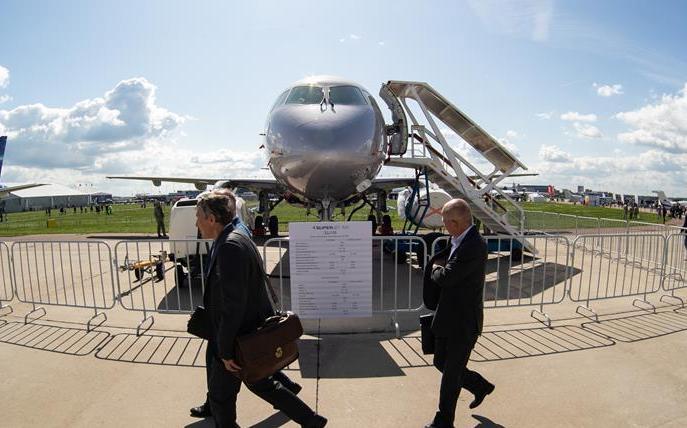 (國際)(2)第14屆莫斯科航展開幕