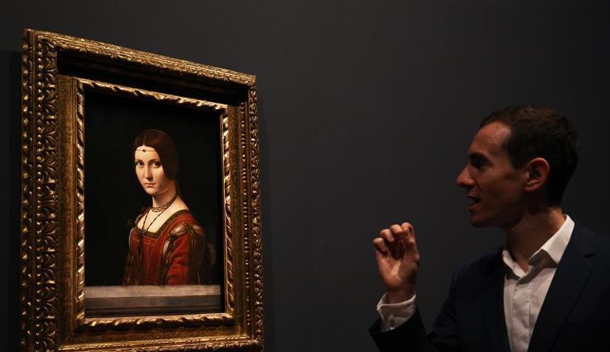 (国际)(3)法国卢浮宫将举办纪念达·芬奇逝世500周年特展