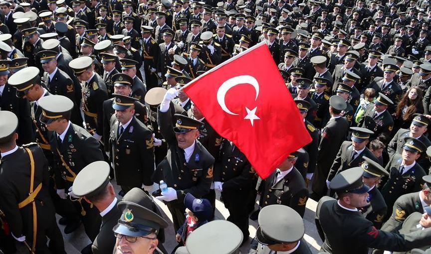 (国际)(1)土耳其庆祝共和国成立96周年