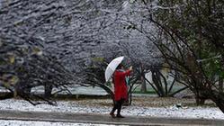 (环境)(1)青海西宁迎来降雪
