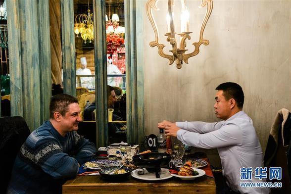 (文化)(1)俄罗斯美食飘香满洲里