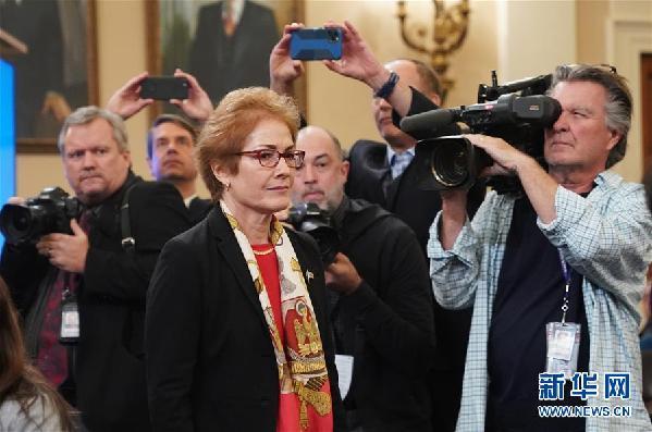 (国际)(1)美国前驻乌克兰大使为特朗普弹劾调查公开作证