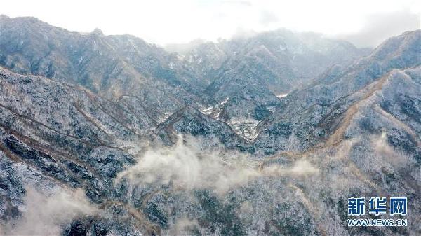 (美麗中國)(1)雪落秦嶺 重巒茫茫