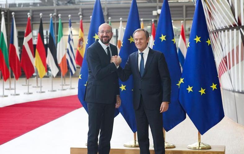 (国际)(1)欧洲理事会举行主席交接仪式