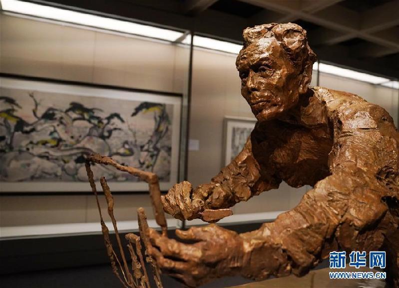 (图文互动)(1)香港艺术馆翻新后重开 推吴冠中诞辰百年展